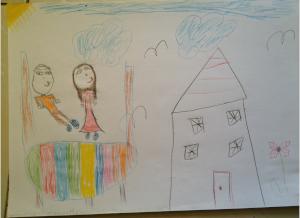 Siblings ZaidmanZait Drawing 300x218